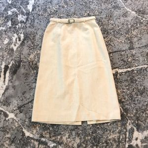 JH Collectibles Vintage Wool Skirt